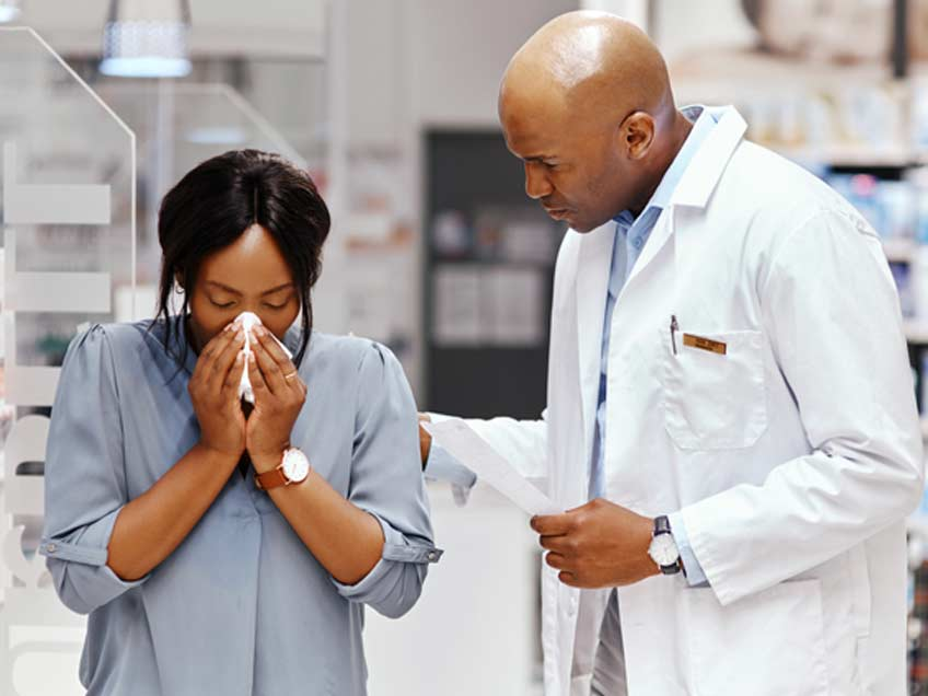 Patient-suffering-before-balloon-sinus-surgery-Orange-County-ENT